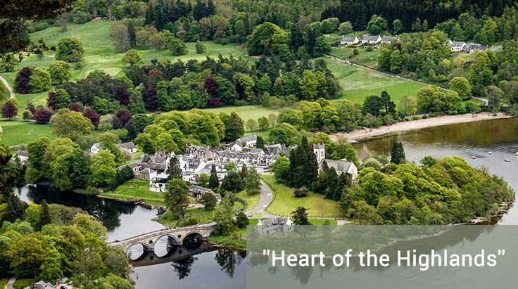 Holiday Cottages Aberfeldy Perthshire Scotland Hillview Cottages